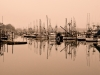 Newport Harbor at Dusk by Renee Giffroy